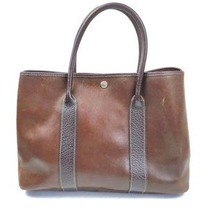 Auth Hermes Garden Party Tote Bag #15038H19